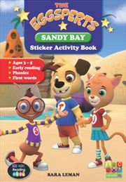 The Eggsperts Sticker Activity Books - Sandy Bay Ages 3-7 | Paperback Book