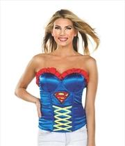 Supergirl Corset: Size L | Apparel