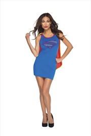 Supergirl Tank Dress: Size Medium | Apparel