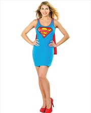 Supergirl Tank Dress: Size Large | Apparel