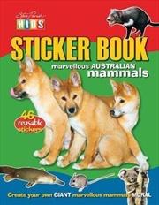 Steve Parish Sticker Books: Marvellous Australian Mammals | Paperback Book