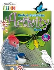 Steve Parish Sticker Activity Book: Birds and Butterflies | Paperback Book