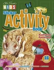 Steve Parish Sticker Activity Book: Australian Rainforests | Paperback Book