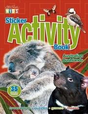 Steve Parish Sticker Activity Book: Australian Bushlands | Paperback Book