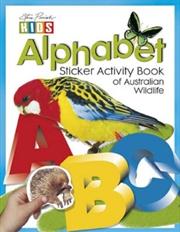 Steve Parish Sticker Activity Book of Australian Wildlife: Alphabet | Paperback Book