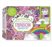 Rainbow Squishy Kit | Hardback Book