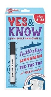 Yes And Know - Ages 8 - 88: 2020 Edition | Paperback Book
