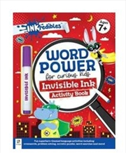 Word Power Invisible Ink | Paperback Book