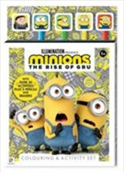 Minions: The Rise of Gru 5-Pencil Set | Paperback Book
