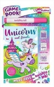 Inkredibles Invisible Ink: Unicorns and Friends | Paperback Book