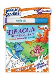 Inkredibles Magic Ink Pictures Dragon Wonderland | Paperback Book