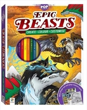 Epic Beasts | Hardback Book