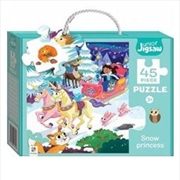 Snow Princess - Junior Jigsaw Series 3 - 45 Piece | Merchandise