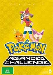 Pokemon - Advanced Challenge - Season 7 | DVD
