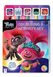 Trolls World Tour 5-Pencil Set | Paperback Book