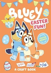 Bluey: Easter Fun! A Craft Book | Paperback Book