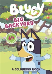 Bluey Big Backyard - A Colouring Book | Paperback Book