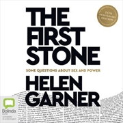 First Stone, The | Audio Book