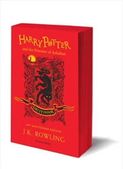 Harry Potter and the Prisoner of Azkaban - Gryffindoor Edition | Paperback Book