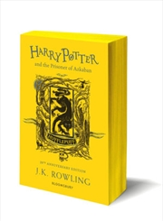 Harry Potter and the Prisoner of Azkaban - Hufflepuff Edition | Paperback Book