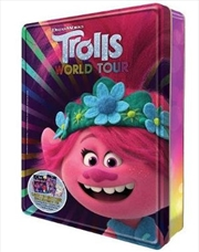 Trolls World Tour - Happy Tin | Paperback Book