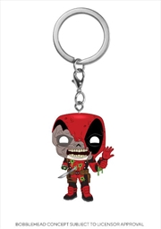 Marvel Zombies - Deadpool Pop! Keychain | Pop Vinyl