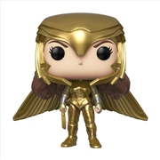 Wonder Woman 2 - WW Gold Wide Wing Pose Pop! RS | Pop Vinyl