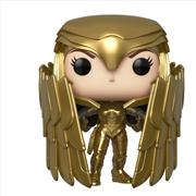Wonder Woman 2 - WW Gold Shield Pose Pop! RS | Pop Vinyl