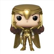 Wonder Woman 2 - WW Gold Power Pose Pop! | Pop Vinyl