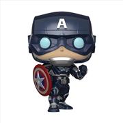 Avengers (VG2020) - Captain America Pop! | Pop Vinyl