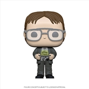 The Office - Dwight w/Jello Stapler Pop! | Pop Vinyl