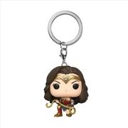Wonder Woman 2 - WW W/Lasso Pop! Keychain | Pop Vinyl