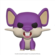 Pokemon - Rattata Pop! | Pop Vinyl