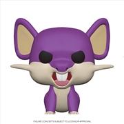 Pokemon - Rattata Pop! | Pop Vinyl