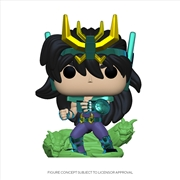Saint Seiya - Dragon Shiryu Pop! | Pop Vinyl