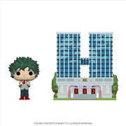 My Hero Academia - Deku w/UA High School Pop! Town | Pop Vinyl