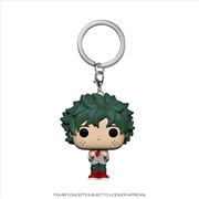 My Hero Academia - Deku School Pop! Keychain | Pop Vinyl