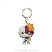 My Hero Academia - Todoroki Glow US Exclusive Pocket Pop! Keychain [RS] | Pop Vinyl