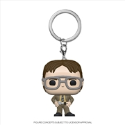 The Office - Dwight Schrute Pop! Keychain | Pop Vinyl