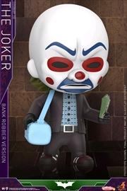 Batman: Dark Knight - Joker Bank Robber Cosbaby | Merchandise