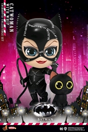 Batman Returns - Catwoman with Whip Cosbaby Set | Merchandise