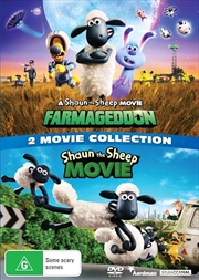 A Shaun The Sheep Movie - Farmageddon / Shaun The Sheep Movie | Double Pack - Franchise Pack | DVD