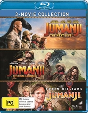 Jumanji / Jumanji - Welcome To The Jungle / Jumanji - The Next Level | Triple Pack - Franchise Pack | Blu-ray