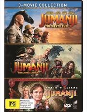 Jumanji / Jumanji - Welcome To The Jungle / Jumanji - The Next Level | Triple Pack - Franchise Pack | DVD