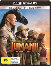 Jumanji - The Next Level | Blu-ray + UHD | UHD