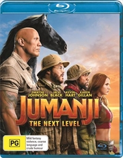 Jumanji - The Next Level  (BONUS COMPASS) | Blu-ray