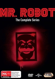 Mr. Robot - Season 1-4 | Boxset | DVD
