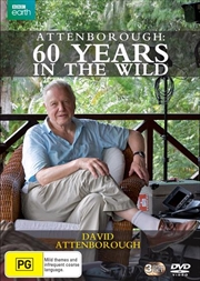 Attenborough - 60 Years In The Wild | DVD