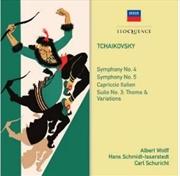 Tchaikovsky Symphonies 4 & 5 | CD