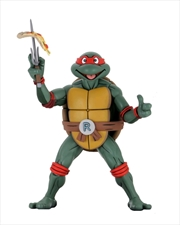 Teenage Mutant Ninja Turtles - Raphael Cartoon Super Size 1:4 Scale Action Figure | Merchandise